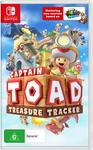 [Switch] Mario Tennis Aces $55.19, Octopath Traveler $55.19, Pokken Tournament $55.19, Captain Toad $39.20 @ Amazon AU