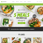 $20 off $75 Spend ($55 after Discount) @ Youfoodz