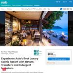 Buri Rasa Village Phangan Beach Resort, Koh Phangan - Beach Front Room 8/5 Nights Nights $1599/$999 (Agoda - $4400/$2750) @ Cudo
