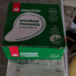 Woolworths Essentials 100g Can of Smoked Mussels $0.60 (Normally $1.54) @ Woolworths