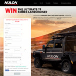 Win a 79 Series LandCruiser worth $150000 from Nulon