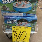 [WA] Bestway Fast Set 2.44m Pool - $10 @ Bunnings Cannington