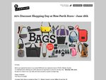 [WA] 20% at Crumpler New Perth Store, Wesley Quarter (SAT 18 JUNE)
