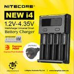 Nitecore New i4 Battery Charger $23.99 Delivered @ Lanplus Australia eBay
