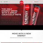 [NSW] Free Coca Cola Energy Drink at Chatswood Station