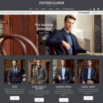 Further 25% off All Menswear | Suits from $149.25 @ Stafford Ellinson