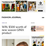 Win a $500 New-Season GINIA Wardrobe from Fashion Journal