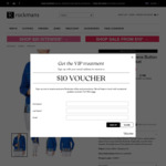 Women's Blue Denim Jacket - $10 (Was $59.99) + Delivery (or Free C&C) @ Rockmans