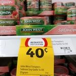 [QLD] John West Tempters Salmon Soy Garlic Sesame Oil 95g $0.40 (Was $2.30) @ Coles, Rochdale