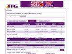 ADSL 2+ Only. TPG $39.99 - 75G+75G = 150GB, $29.99 - 25G+25G = 50GB, $49.99 - 250GB+250GB = 500GB
