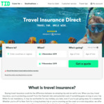 15% off Travel Insurance @ Travel Insurance Direct