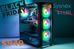 Back Friday Deal: Intel and AMD Gaming Systems Starting from $649 Shipped @ Sysnex