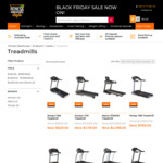 30% off All Treadmills Black Friday and Cyber Monday Weekend @ Fitness Warehouse