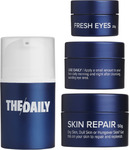Daily Face Wash (100ml), Moisturizer, Eye Cream, Mask and Face Scrub $90 Shipped (Save $20) @ The Daily