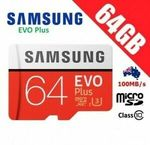 3 for $19.90 (e.g SanDisk Ultra 64GB CZ48 USB3.0 Drive, Samsung EVO Plus 64GB) + Delivery ($0 with Plus) @ Apus Express eBay
