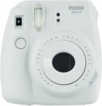 Instax Mini 9 Instant Camera (White, Ice Blue) $56.26 + Post / Pickup @ eBay The Good Guys or  $58 @ The Good Guys