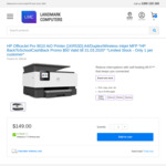 HP OfficeJet Pro 9010 All-in-One Printer $149 + $50 Cashback from HP + Delivery ($0 VIC Pickup CBD / Mitcham) @ LMC