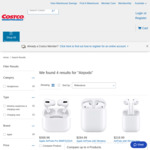 Apple AirPods Pro $369 (OOS), Airpods w Wired Case $219, with Wireless Case $285 Delivered @ Costco Online (Membership Required)