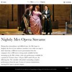 New York Metropolitan Opera - Nightly Met Opera Streams HD - Free
