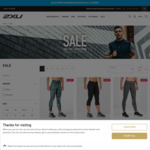 2XU Mid-Season 50%+ off Outlet Styles - Free Shipping