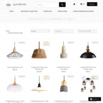 """Pendant Lamps (8 Models) under """"Clearance Sale Category"""" Further 50% off w/ Coupon Code + Free Shipping @ Lectory.com.au"""