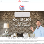 Win 1 of 25 Fujitsu General Lifestyle Reverse Cycle Air Conditioners Worth $2,219 from Fujitsu