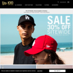 30% off Sitewide at New Era Cap AU
