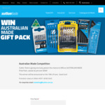 Win an Australian Made Gift Pack Worth Over $500 from Sutton Tools