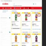 ½ Price: Campbell's V8 Juice 1.25 Litre $2.50 @ Coles