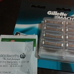 Gillette Mach3 8 Blade Refills $9.60 (Was $27) @ Woolworths (In-Store Only)