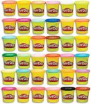 Play-Doh Bulk Mega Pack - 36x 85g Tubs $17 + Delivery ($0 with Prime/ $39 Spend) @ Amazon AU