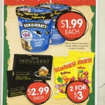 [WA] Ben & Jerry's Chocolate Cookie Affair or Caramel Cookie Fix 458ml $1.99 Each @ Spudshed