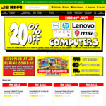 JB Hi-Fi 30% off 4K, Blu Ray & DVDs and 20% off CDs & Vinyl
