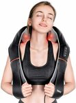 RENPHO Shiatsu Neck and Back Massager with Heat, 3D Kneading for Full Body $55.99 Delivered ($24 off) @ AC Green Amazon AU