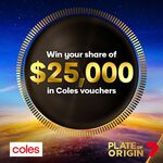 Win 1 of 50 $500 Coles Gift Cards from Seven Network