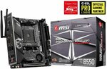 MSI MPG B550I Gaming Edge WiFi ITX Motherboard, $295.59 + Delivery (Free with Prime) @ Amazon UK via AU