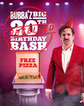 [VIC, SA] Free Large Pizza (Tropical, Pepperoni or Plain Cheese) @ Bubba Pizza from 12pm to 2pm on 22/10/2020 (Preregister Now)