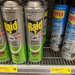 Hovex Odourless Flying Insect Spray 350g $1 @ The Reject Shop