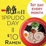 [NSW] $10 Ramen - 1st Day of Every Month @ IPPUDO (Sydney Stores Only)