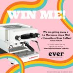 Win a La Marzocco Linea Mini & Coffee Bundle Worth $6,650 from Ever Coffee Roasters