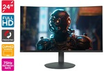 "Kogan 24"" Full HD Curved 75hz FreeSync Gaming Monitor $145 + Shipping (Free with Kogan First) @ Kogan"