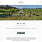 5* Halliday & Top 100 Producer: Bec Hardy SA Merlot 2019 $58.50/6pk or $107.10/Doz + $0 Delivery on orders $150+ @ Wineshedsale
