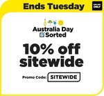 10% off Sitewide (Online Only) @ Liquorland