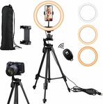 40% off Ring Light with Tripod $40.68 Delivered @ Ottertooth Direct via Amazon AU