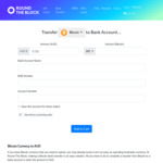 Bonus A$25 When You Withdraw Bitcoin & Other Cryptocurrencies (Min. Transaction A$1000) @ Round the Block