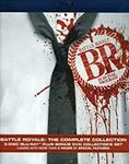 Battle Royale: The Complete Collection (3 Region-A Blu-Ray, 1 DVD) $28.01 + Post ($0 with Prime + $49 Spend) @ Amazon US via AU