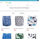 Re-usable Cloth Nappies $6.99 Each (Usually $9.99) + Shipping @ Babyco