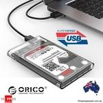 "ORICO 2139U3 USB3 to 2.5"" SATA Enclosure $9.95 Delivered @ Shopping Square"