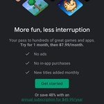 [Android] Google Play Pass - 1 Month Free Trial, Then $7.99/Month or $49.99/ Year