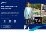 Win 1 of 18 Pairs of Shoes of Choice Worth Up to $270 from ASICS